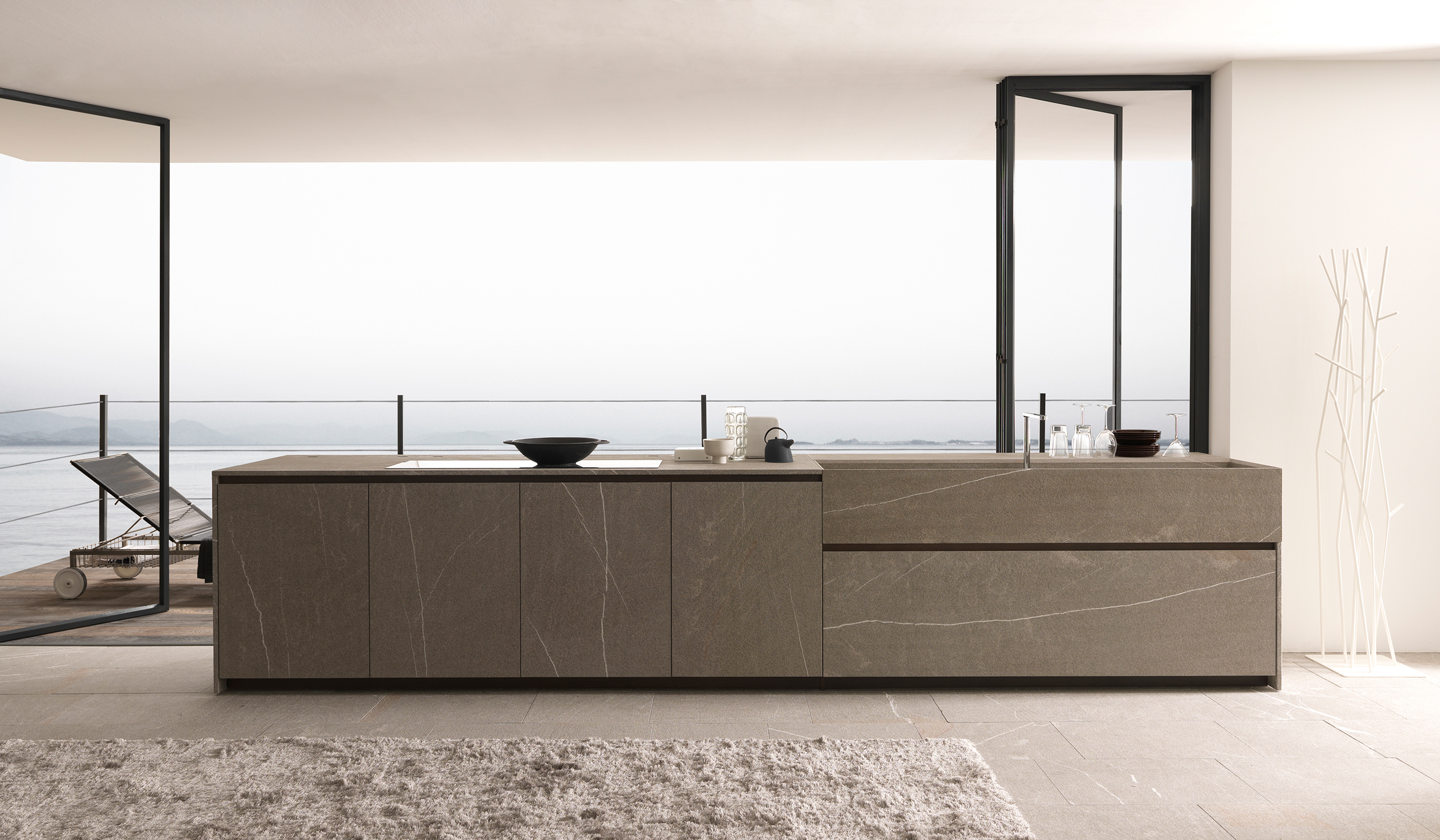 Italiaans keukendesign twenty modulnova flagshipstore